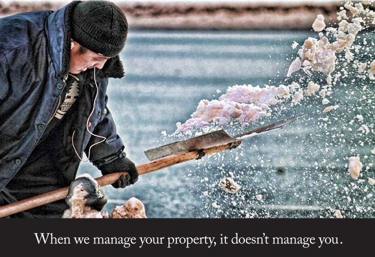 When we manage your property, it doesn't manage you.